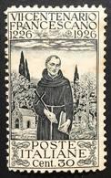 1926 7° Centenario Della Morte Di San Franesco Sassone N°193+198 Nuovo ** E Linguellato  COD FRA.1165 - Nuovi