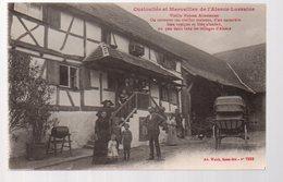 REF 366 - CPA 67 Vieille Maison Alsacienne Petite Animation - Other Municipalities