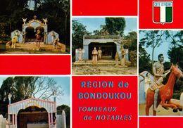 1 AK Elfenbeinküste Côte D'Ivoire * Gräber Angesehener Persönlichkeiten In Der Region Bonduku (Bondoukou) - IRIS AK 7496 - Elfenbeinküste