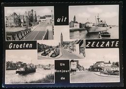 FOTOKAART  GROETEN UIT ZELZATE - Zelzate