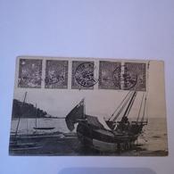 Madagascar / Schip - Bateau / 1909 Nice Franking - Madagaskar