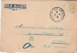 Carte Lettre  De Militaire SP50556 écrite Dongjin Vietnam Cachet Postes Aux Armées 27/5/1946  FM Pour Ore Haute Garonne - Marcophilie (Lettres)