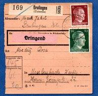 Colis Postal  -  Départ Drulingen  - - Allemagne