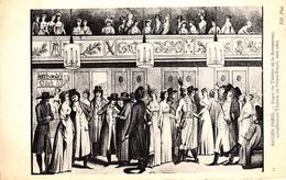 Thematiques Representation Ancien Paris Foyer Du Théatre De La Montansier Palais Royal Vers 1805 N° 41 - France