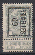 """BELGIË - PREO - 1909 - Nr 9 B - BRUXELLES """"09"""" - (*) - Precancels"""