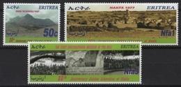 Eritrea (2002) Yv. 445/47  /  Nafka - Victory - Eritrea