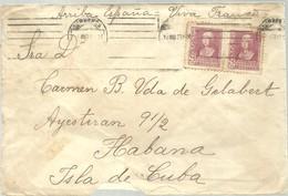 CARTA 1939 CENSURA MILITAR  MADRID - Marcas De Censura Nacional