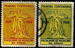 PORTUGAL, Vinhetas Semi-Modernas, F/VF - Fiscaux