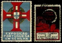 PORTUGAL, Vinhetas Semi-Modernas, F/VF - Neufs