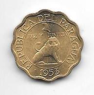 *paraguay 10 Centavos 1953 Km 25  Bu !!!!! - Paraguay