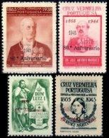 PORTUGAL, Vinhetas Cruz Vermelha, F/VF - Fiscale Zegels