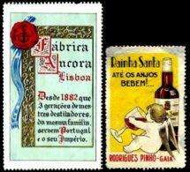 PORTUGAL, Vinhetas Publicidade, Ave/F - Neufs