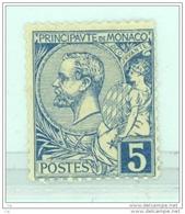 Monaco  -  1891  :  Yv  13  *       ,     N6 - Monaco