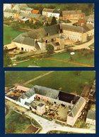 Arlon - Sterpenich. Vue Aérienne Du Château De Sterpenich. Tourisme à La Ferme. Lot De 2 Cartes - Arlon