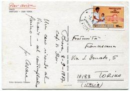 Cabo Verde - Postcard - Carte Postale - Kaapverdische Eilanden