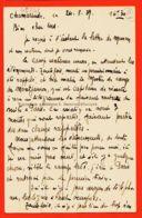 X91103 Rare 1/3 Lisez 24-08-1939 Début Guerre Scout CHAMARANDE (91) Coin Patrouille Camp-Ecole SCOUTS De FRANCE- RAMEAU - France