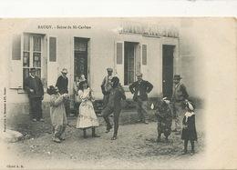 Baugy Scene De Mi Careme . Carnaval . Montreuse De Singes Humains . Human Monkeys Tamer Bergeret A.S. - Baugy