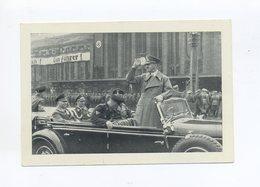 1938 Sudetenland Reichenberg Maffersdorf S/W Propagandakarte Hitler Im Mercedes Mit 40 H Minr 21 Gest. Reichenberg - Sudetenland