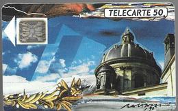 Telecarte 50 - Académie Française - Culture