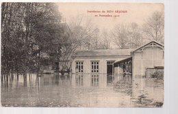 REF 366 - CPA 10 TROYES Inondation Du Bon Séjour Novembre 1910 - Troyes