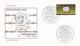 Germany FDC 1983 Vervolgung Und Widerstand (G98-22) - [7] Repubblica Federale