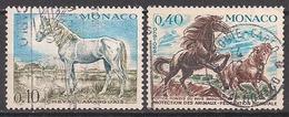 Monaco  (1970)  Mi.Nr.  980 + 967  Gest. / Used  (3ad38) - Gebraucht