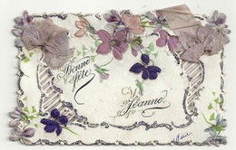 Bonne Fête Jeanne - Fleurs