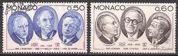 Monaco  (1976)  Mi.Nr.  1215 + 1216  Gest. / Used  (3ad29) - Gebraucht