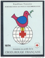 France 1974 Carnet C 2023 Neuf Croix Rouge - Red Cross
