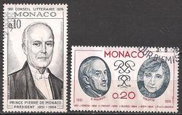 Monaco  (1976)  Mi.Nr.  1211 + 1212  Gest. / Used  (3ad30) - Gebraucht
