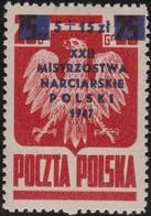 Polen   .  Yvert   481         .    *      .   Ungebraucht Mit Gummi Und Falz  .   /  .   Mint Hinged - 1944-.... Republik