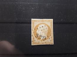 Empire No 13 B Type 2 Obl Pc 3289 ST SAINT SULPICE LES CHAMPS,  Creuse ,indice 13, Belle Frappe TB - 1853-1860 Napoléon III