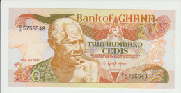 Ghana 200 Cedis 1990 Pick 27b UNC - Ghana