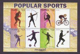 Filippine Philippines Philippinen Pilipinas 2018 Popular Sports Sheetlet - MNH** (see Photo) - Filippine