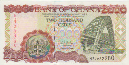 Ghana 2000 Cedis 2006 Pick 33 UNC - Ghana