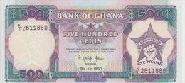 Ghana 500 Cedis 1990 Pick 28 UNC - Ghana