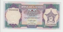 Ghana 500 Cedis 1994 Pick 28 UNC - Ghana