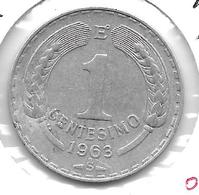 *chile 1 Centavo 1963  Km 189 - Chili