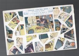 Puzzle NESTLE , Concours Casse Tête N°25 La Nourrice En Boite (ill Maurice Toussaint)  (PPP9997) - Reclame