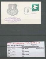 1514 Espace (space Raumfahrt) Entier Postal (Stamped Stationery USA STS 51 L Challenger Shuttle Navette Start 28/1/1986 - Stati Uniti