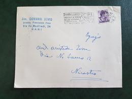 (13041) ITALIA STORIA POSTALE 1961 - 1946-.. République