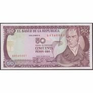 TWN - COLOMBIA 422a2 - 50 Pesos Oro 7.8.1981 UNC - Colombia