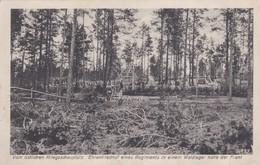 Ehrenfriedhof Eines Regiment Im Waldlager ( Narocz See ? ) - Belarus