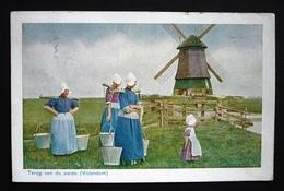 VOLENDAM Mühle Windmolens Mills Moulin Gel. 1928 V. Gravenhage N. Schaffhausen - Moulins à Vent