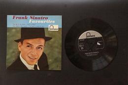 FRANK SINATRA FAVOURITES  RARE EP HOLLANDAIS  19? - 45 Rpm - Maxi-Single