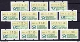 Duitsland West 1981 Complete Reeks Vignetten **, Zeer Mooi Lot K 312    KOOPJE !!! - Collezioni (senza Album)