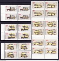 Duitsland Berlin 1973 Nr 411/13 & 420/22 ** In Blok Van 4 St, Zeer Mooi Lot 3218 - Unused Stamps
