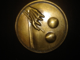 Grande Medaille Jeton Billard - Billares