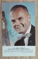 John H. Glenn Jr. United States Astronaut Card - Astronomie