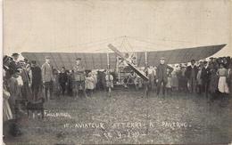 Aviation - Aviateur Failloubaz - Vol Avenches-Payerne - 1910 - Aviateurs